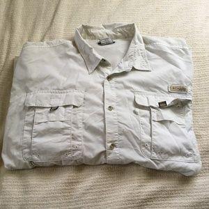 Columbia PFG Vented Fishing Shirt Button Front